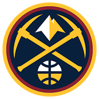 Basketball Punctual Denver Nuggets Nba Basketball Badge.