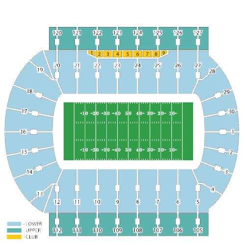 Michigan State Stadium Seating Chart